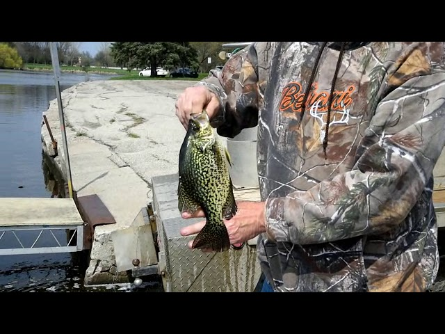 Sportsmens Club stocks river system with crappies