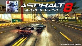 Asphalt 8: Airborne - Lamborghini Veneno [NOCAUTE]