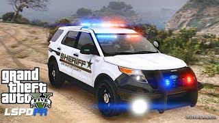 LSPDFR #517 SHERIFF PATROL!! (GTA 5 REAL LIFE PC MOD)