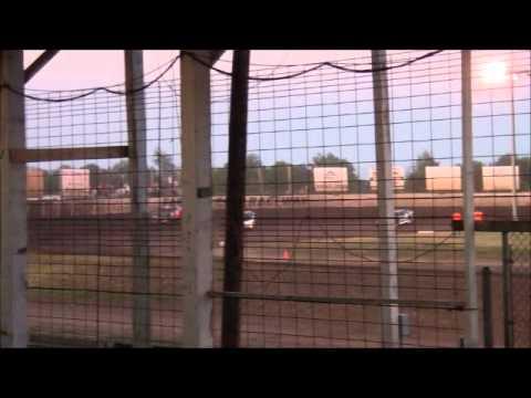 Farmer City Raceway Sportsman Heat, June 22, 2012