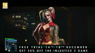 INJUSTICE 2 Free Trial Trailer (2017)