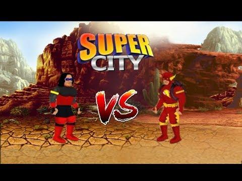 CW VIBE VS THE FLASH (Super City Battles)