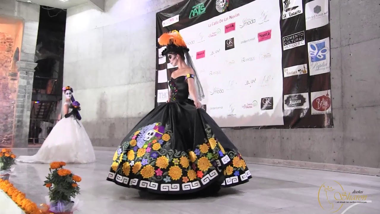 Diseños Sharon En Catrina Fest 2017 Youtube