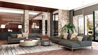 Современный классический стиль | Модный стильный дом | Проект виллы для комфортной жизни