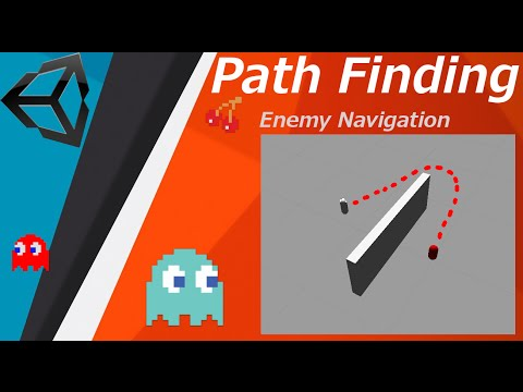 Pathfinding with navigation mesh. Unity 3D