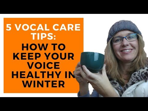 How to Keep Your Voice Healthy in Winter: 5 Vocal Care Tips