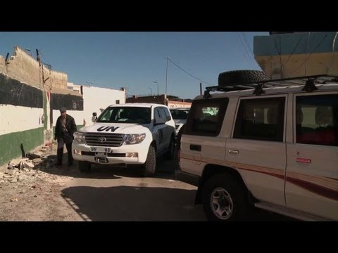 UN agencies visit Palestinian refugees in Homs