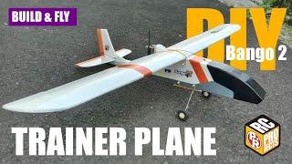 Bango 2 RC Trainer Plane for Beginner