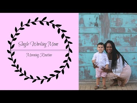 Single Working Mom | Morning routine