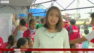 Fear of disease in Typhoon Haiyan aftermath