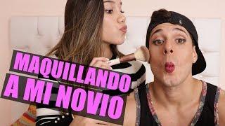 MAQUILLANDO A MI NOVIO - M&H tv