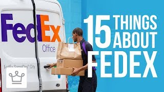 15 Things You Didn't Know About FEDEX