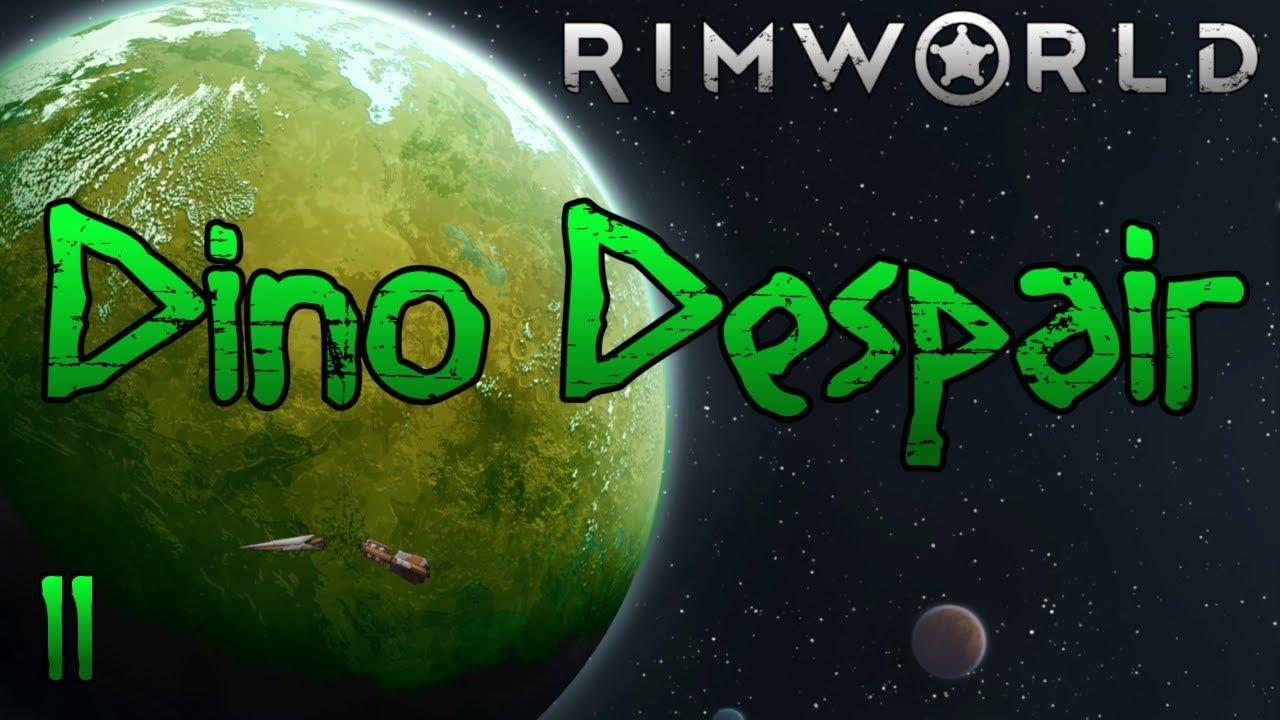 Rimworld: Dino Despair [1.0] Part 11: Totally Not Stalling #1