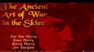 Ancient Art of War in the Skies gameplay (PC Game, 1992)