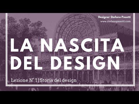 La nascita del design | Lezione N°1 | Storia del design