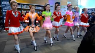 the josephine mahon school of irish dancing family performance at polskaire gorey festival 2016