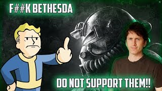 The Excuses Are Out The Window Bethesda Is a Joke!!