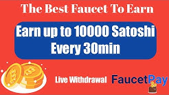 The Best Faucet To Earn Bitcoin | Instant Payout Faucetpay | Free Bits 2020