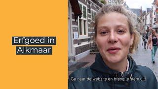 Gemeente Alkmaar | Is genomineerd voor de BNG Erfgoedprijs