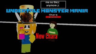 Undertale monster mania: new chara (roblox)