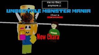 Undertale Monster-Manie: neue chara (roblox)