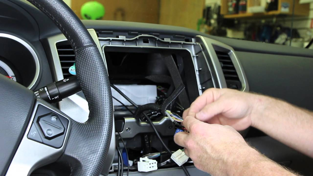 mitsubishi eclipse stereo wiring diagram jeep wrangler jk radio how to install a pac audio swi rc steering wheel interface - youtube