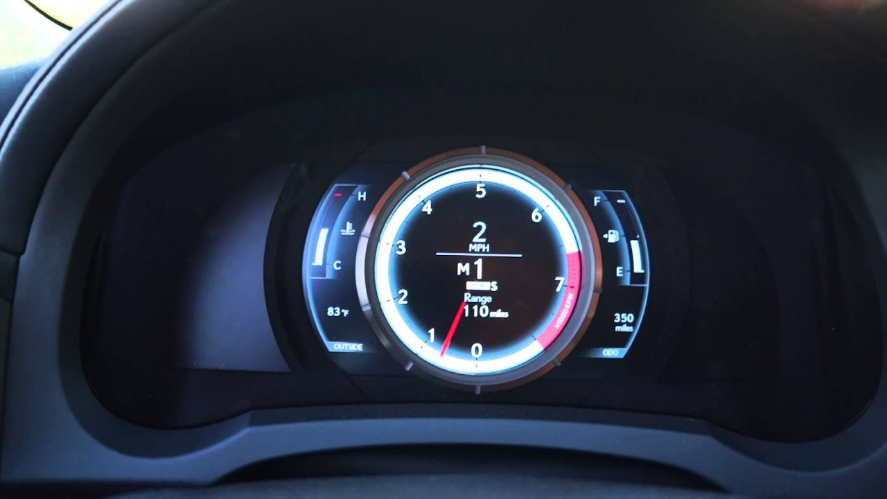2014 lexus is 350 awd f sport 0 55mph using sport mode and paddle shifter youtube. Black Bedroom Furniture Sets. Home Design Ideas