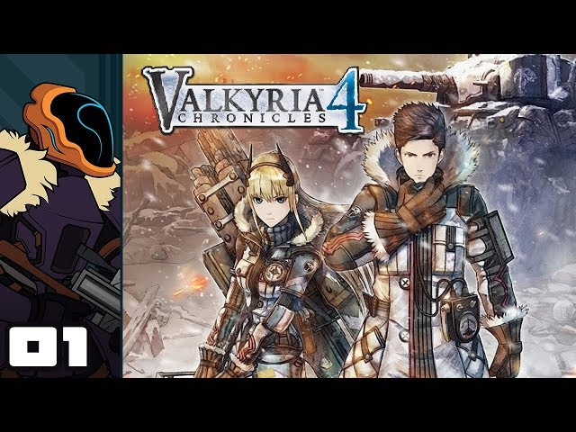 Lets Play Valkyria Chronicles 4 - PC Gameplay Part 1 - Stumbling Through The Basics Of Battle
