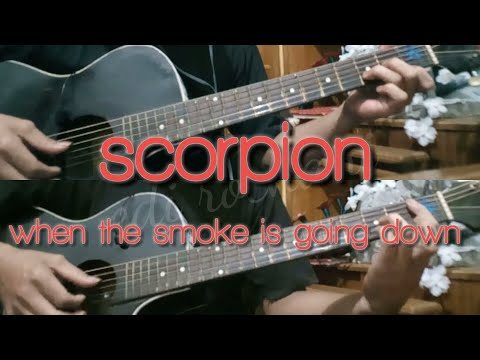 Scorpion when the smoke is going down (gitar cover)