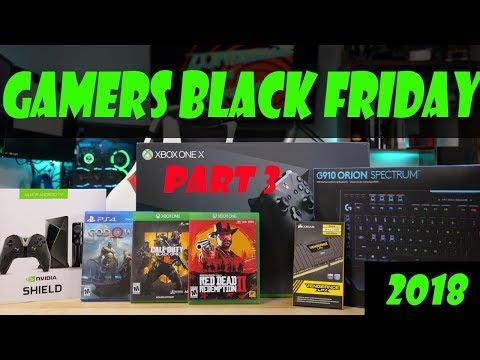 Top 10 Deals for Gamers (pt3) - Black Friday 2018 Guide