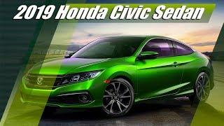 New 2019 Honda Civic Sedan Preview