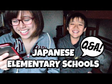 Japanese Elementary School Q&A | Lunch Time Roles & Punishments