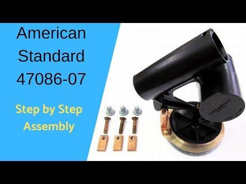 American Standard 47086-07 #4 Flush Valve Detailed Assembly