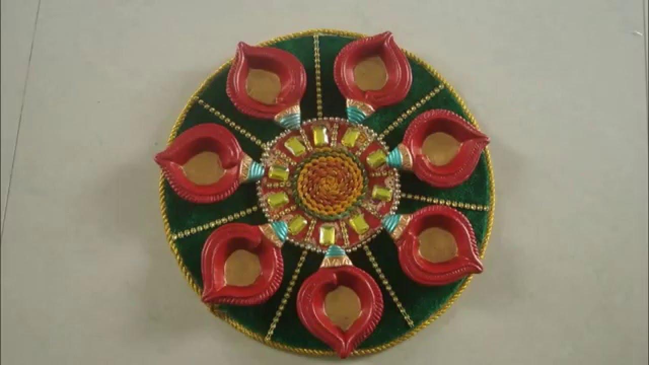 30   Great How To Make Handmade Decorative Items For for How To Make Handmade Decorative Items For Diwali  34eri