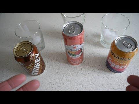 Lemonade Taste Test | South Africa, Italy, Germany | Stoney Ginger Beer, San Pellegrino, Spezi
