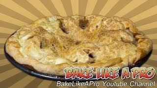 Homemade Apple Pie Recipe / All Butter Flaky Pie Dough