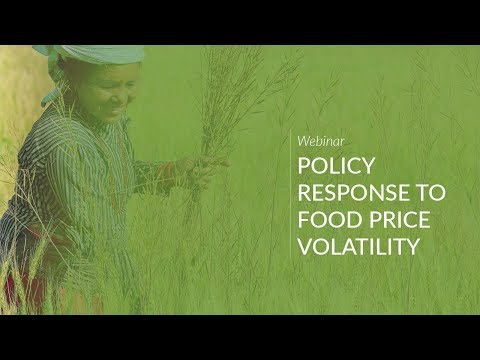 Webinar: Policy Responses To Food Price Volatility
