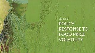 Policy Responses to Food Price Volatility