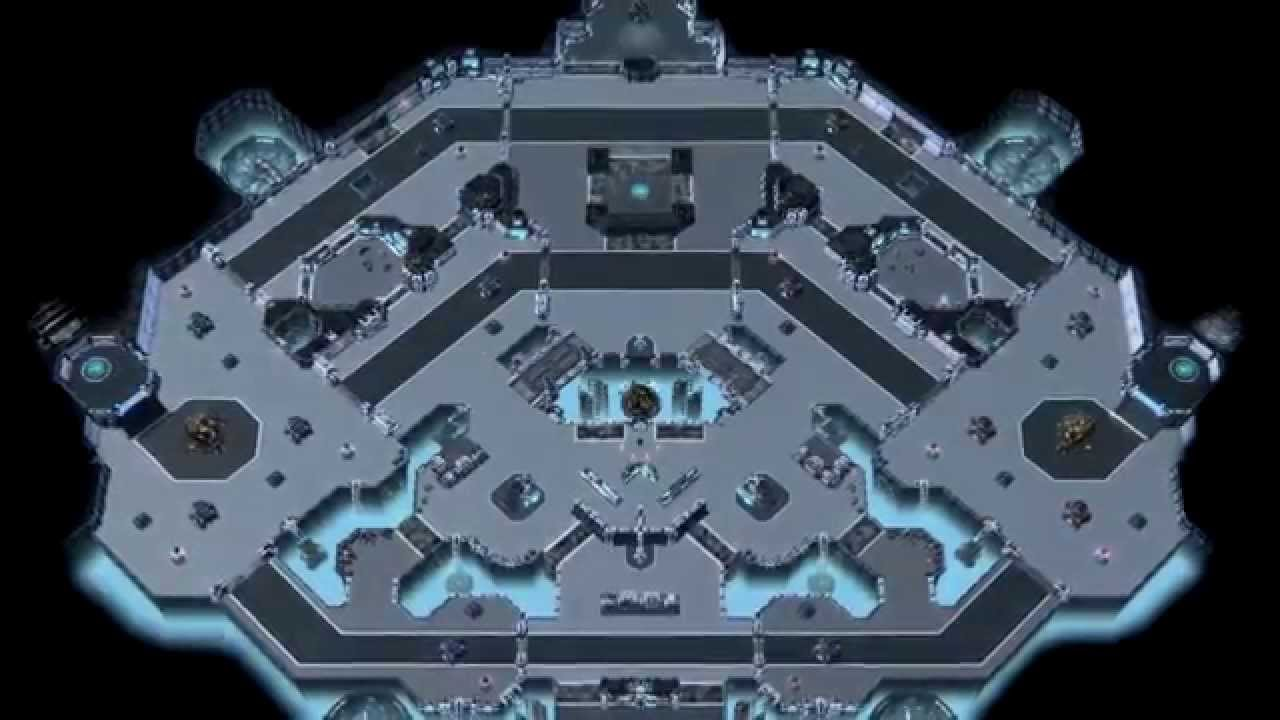 Player mods Heroes map with StarCraft theme