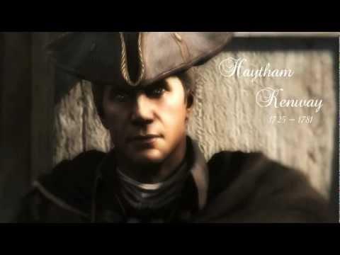 His last words Haytham Kenway  AC3  Forsaken
