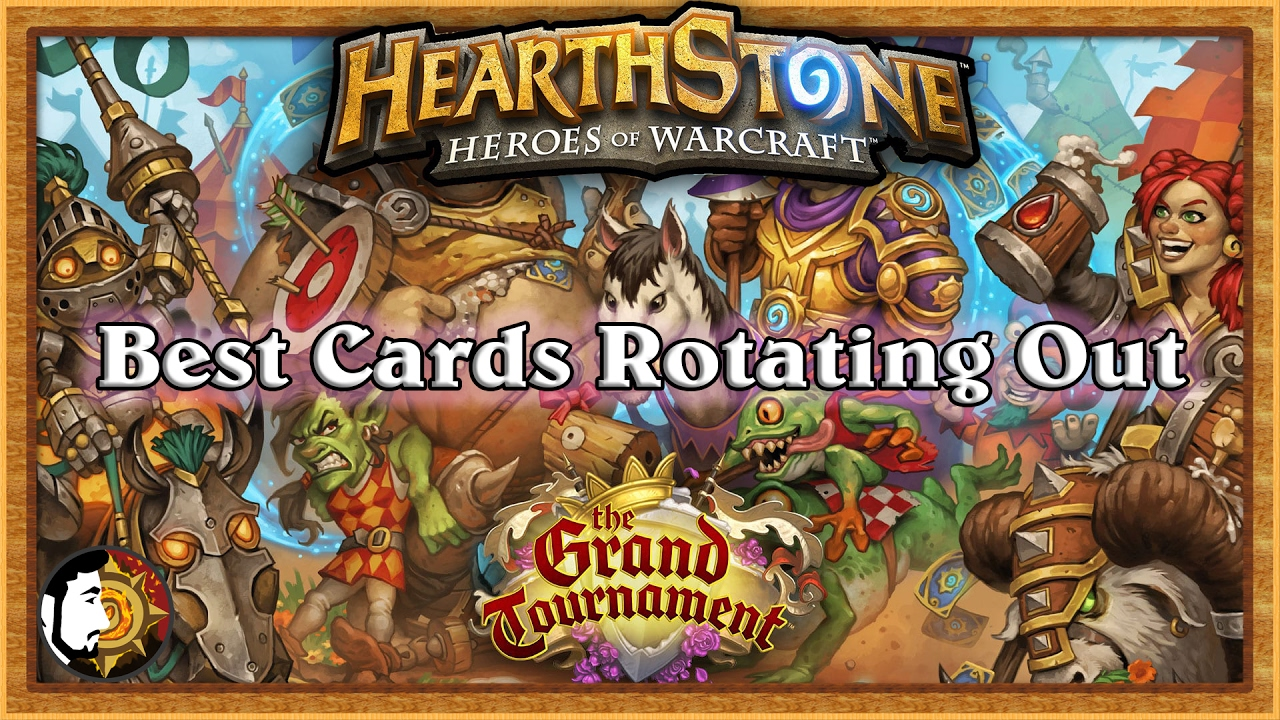 Hearthstone Best Grand Tournament Cards  Youtube