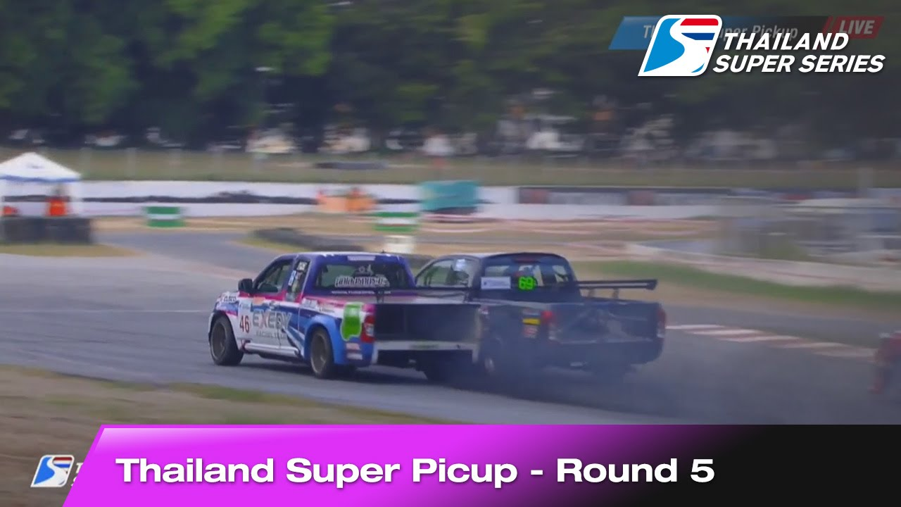 Highlight Thailand Super Picup Round 5 | Bira International Circuit