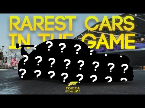 THE RAREST CARS IN THE GAME (and How to Unlock) - Forza Horizon 4 thumbnail