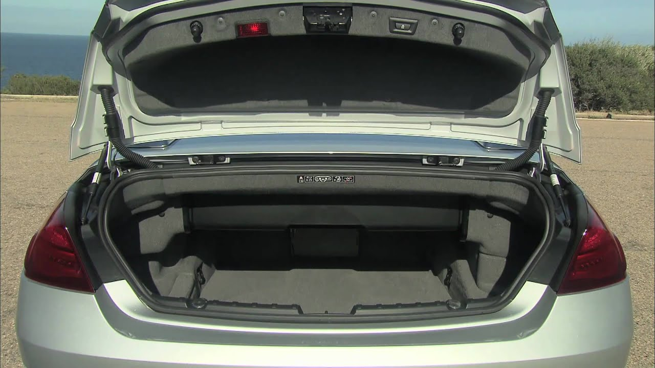 2012 BMW 6 Series Convertible Trunk