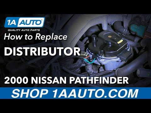 How to Remove Replace Distributor 2000 Nissan Pathfinder