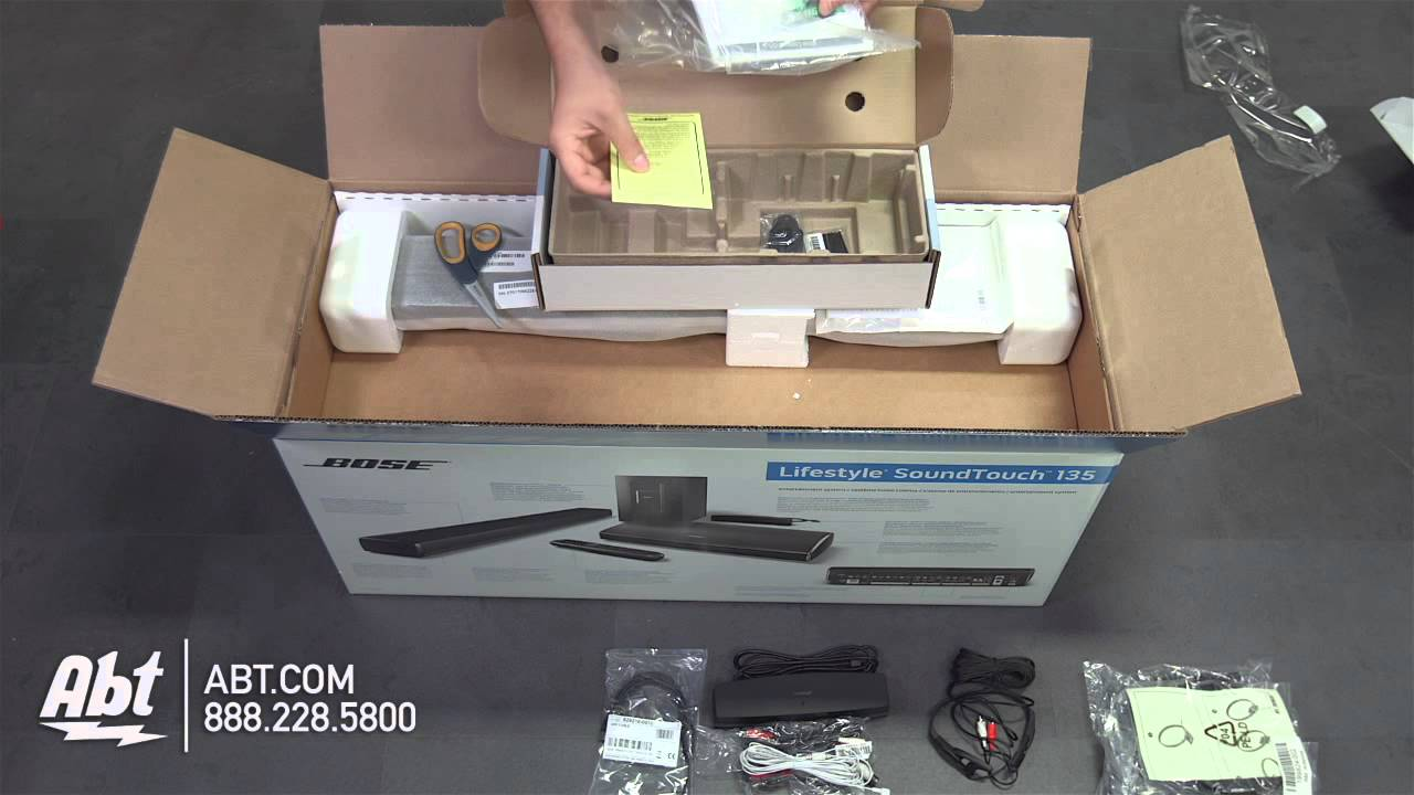 Unboxing Bose Lifestyle 135 Series Iii Home Entertainment