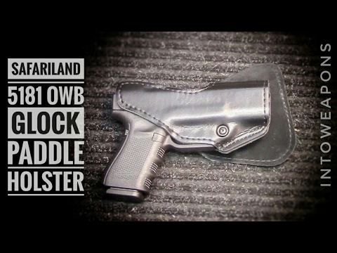 Best Owb Glock 19 Holster Safariland 5181 Paddle Holster Youtube