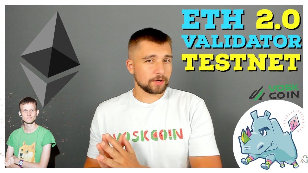 Ethereum ETH 2.0 Launch Date for Testnet | Validator Node Setup & Profitability