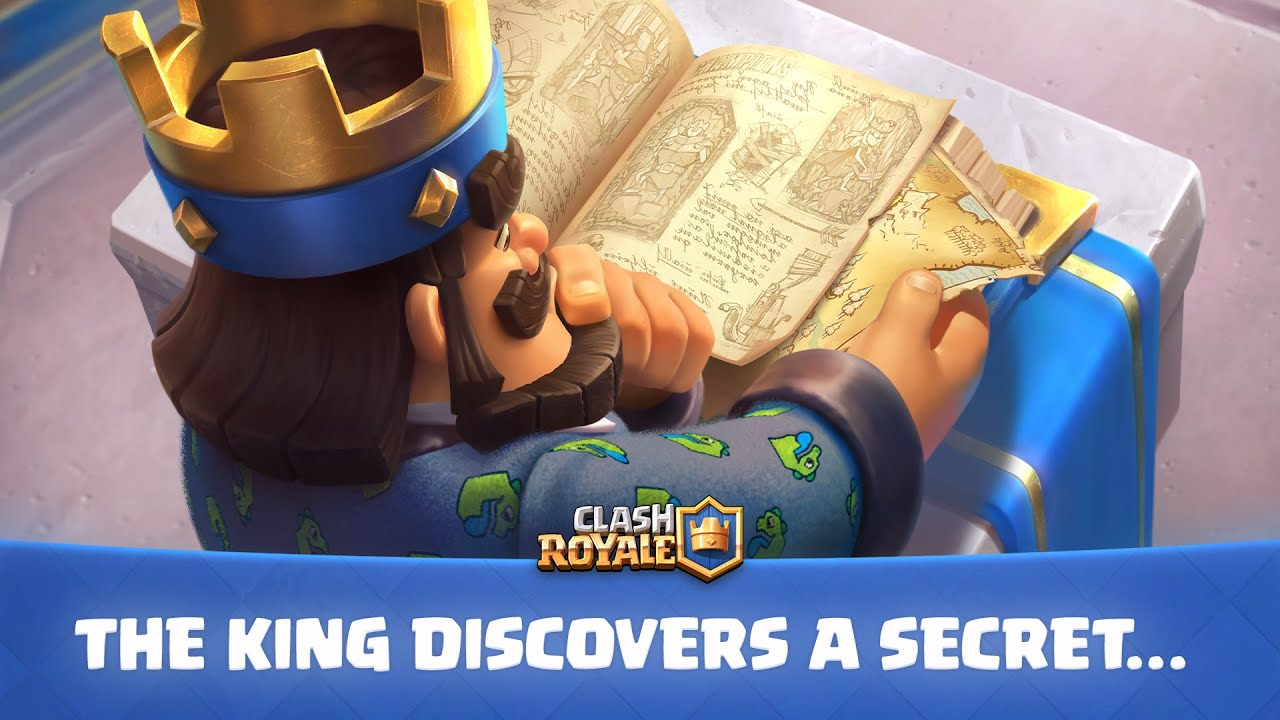 Download Clash Royale: Update Teaser! The King Discovers a Secret...