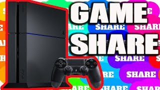 PS4 GAMESHARE 2019 - Game Share 3 ACCOUNTS LOCKS PS4 GAMES